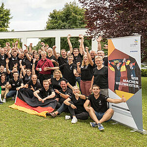 Team Germany bei den WorldSkills 2017 in Abu Dhabi