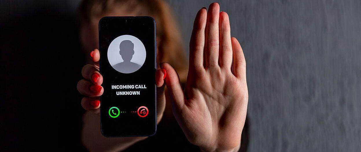 Nervige Telefonnummern