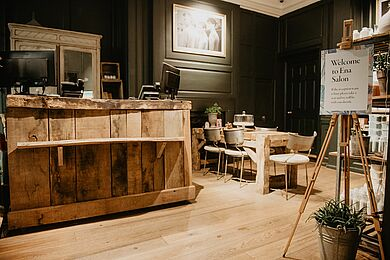 Der Ena Salon in London ist Davines Flagship Store >< Foto: Allilon
