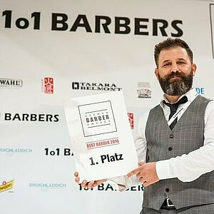 1o1Barbers, German Barber Awards, Sezer Soylu, Barbier, Männertrends, Fashion