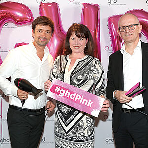 DKMS life, pink, ghd