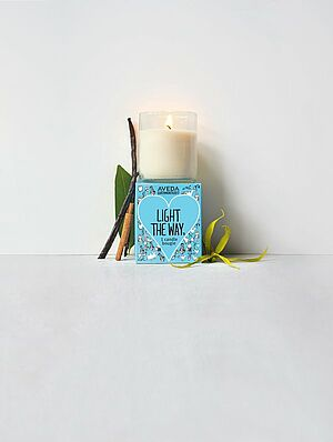 Aveda Light the Way Candle, Earth Month 2017, Candle, Aveda Kerze, Viva con agua