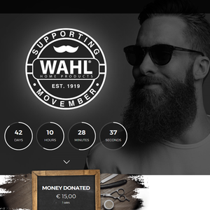 Wahl-Spendenaktion Movember