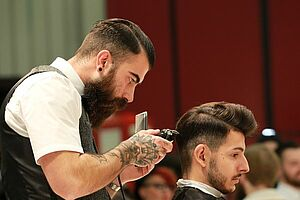 Messe Haare Nürnberg 2016, International Barber Award, 1o1Barbers, Bärte, Herrenfrisuren