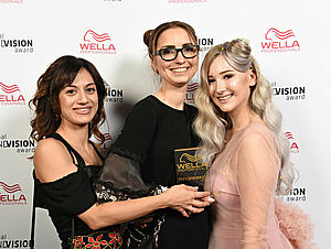 Wella National Trend Vision Award Gewinnerin Julia Nigrezkul, Salon Janina Ehrenberg, Bad Kissingen
