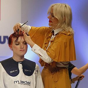 Indira Schauwecker, Toni & Guy, Hairstylist, Erfolgsstory, TOP HAIR, Messe, Business