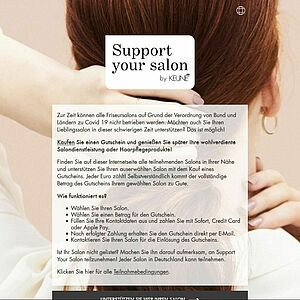 Screenshot: www.supportyoursalon.com