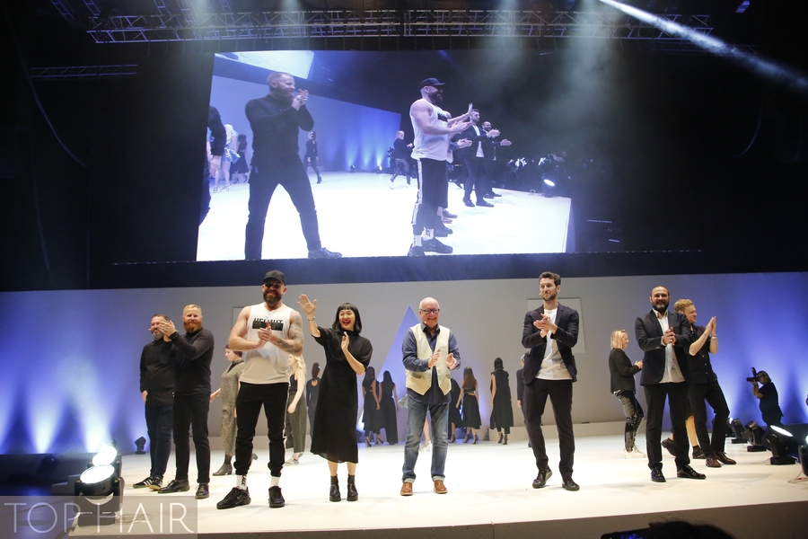 Trevor Sorbie, Egbert Krupp, TOP HAIR international, London, Show, Interview