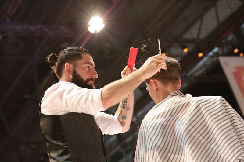 Baderknechte, TOP HAIR Messe, Messe 2017, TOP HAIR, Frisuren, Friseure, Show