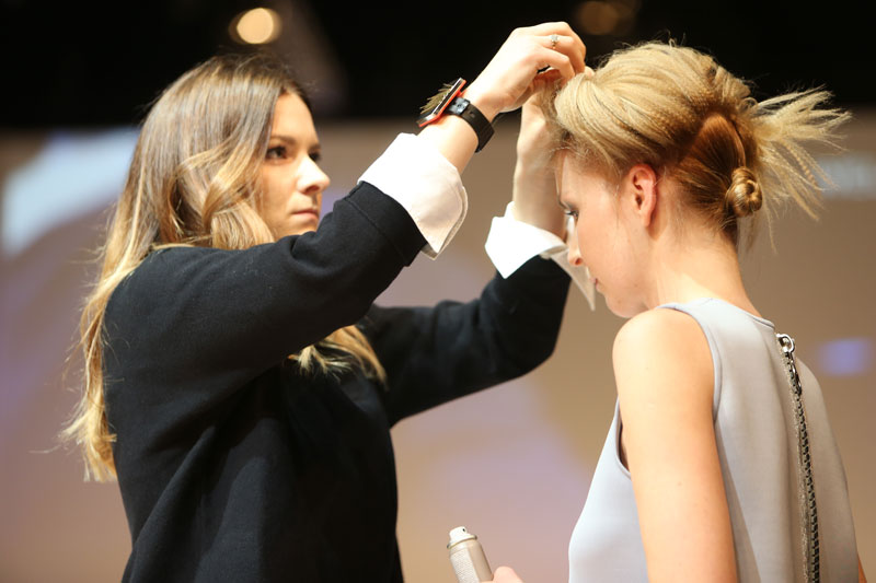 Brockmann und Knödler mit Trio Hair, TOP HAIR Messe, Messe 2017, TOP HAIR, Frisuren, Friseure, Show