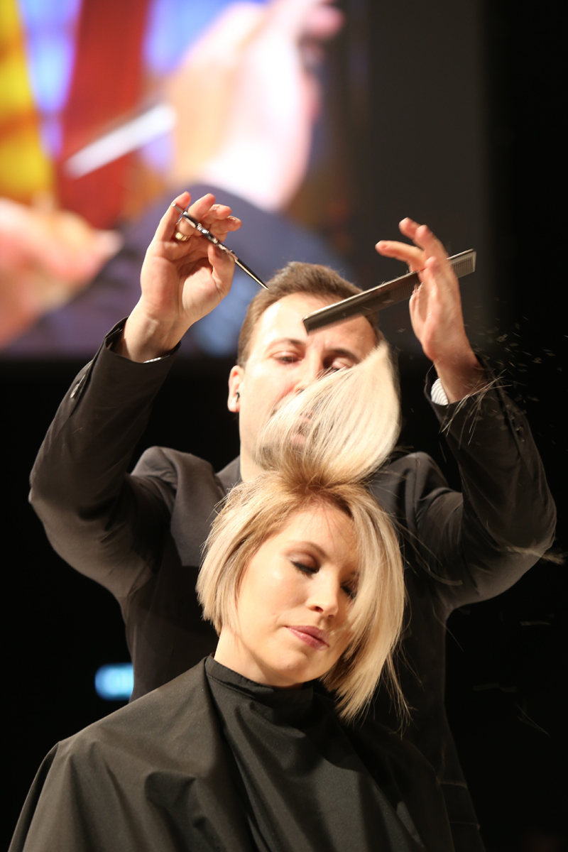 ICD Intercoiffure Fashion Team, TOP HAIR Messe, Messe 2017, TOP HAIR, Frisuren, Friseure, Show