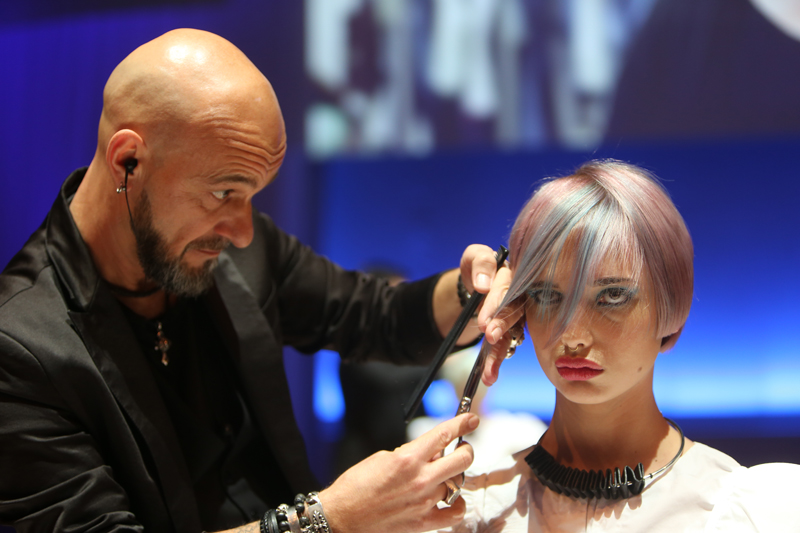 J.7 School, TOP HAIR Messe, Messe 2017, TOP HAIR, Frisuren, Friseure, Show