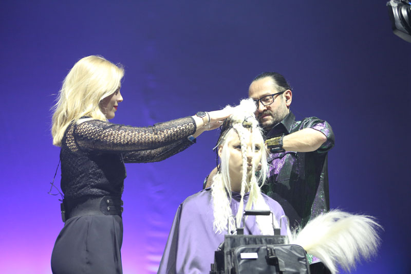 Mario Krankl und Ken Hong, TOP HAIR Messe, Messe 2017, TOP HAIR, Frisuren, Friseure, Show