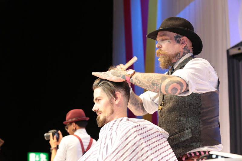 Schorem Barbers, TOP HAIR Messe, Messe 2017, TOP HAIR, Frisuren, Friseure, Show