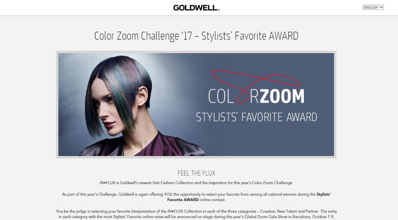 Goldwell Stylists Favorite Award