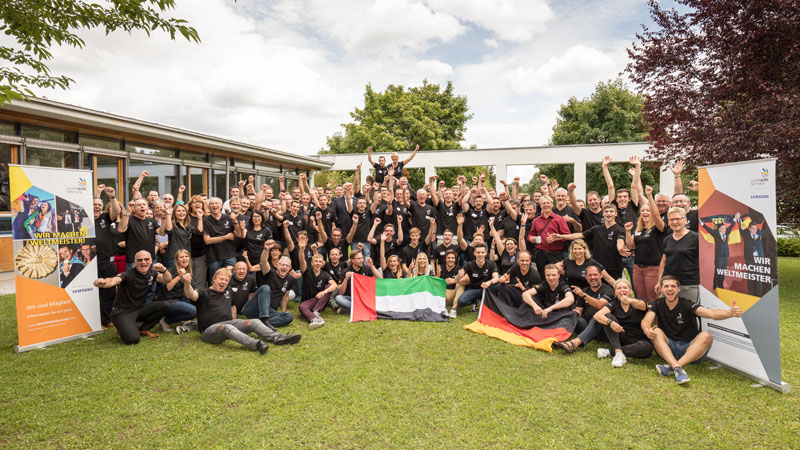 Team Germany bei den WorldSkills 2017 Abu Dhabi